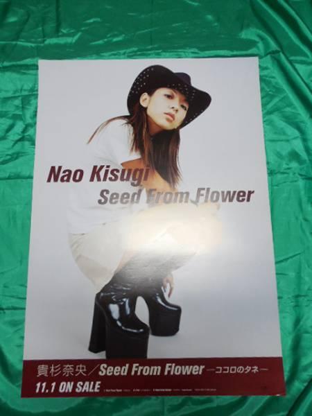 貴杉奈央 Seed From Flower B2サイズポスター