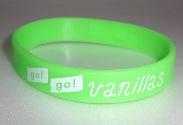 【新品 会場限定】 go go vanillas ラバーバンド ラババン 緑