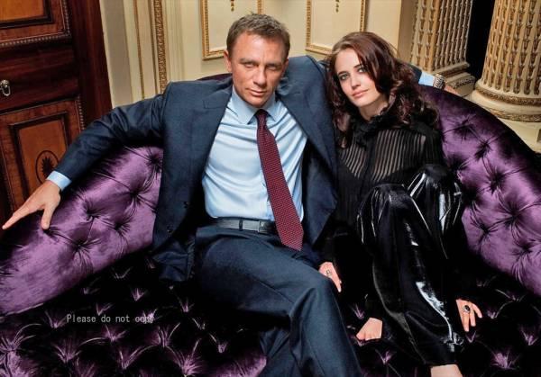 2006年、映画 007 カジノ・ロワイヤル ダニエル 写真 二枚付き