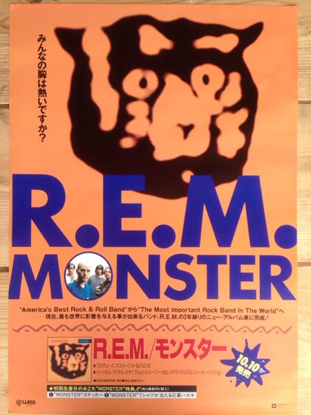 R.E.M. monster ポスター poster 洋楽