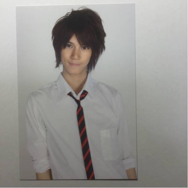 浜尾京介 ポストカードサイズのカード 白シャツ ネクタイ ⑦
