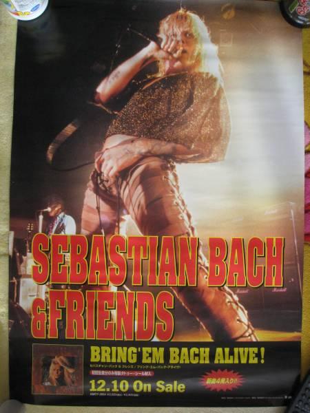 ex skidrowのvo sebastian bach poster