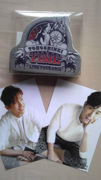 ★東方神起 2013 TIME~缶入り ステッカー(ポスカおまけ)