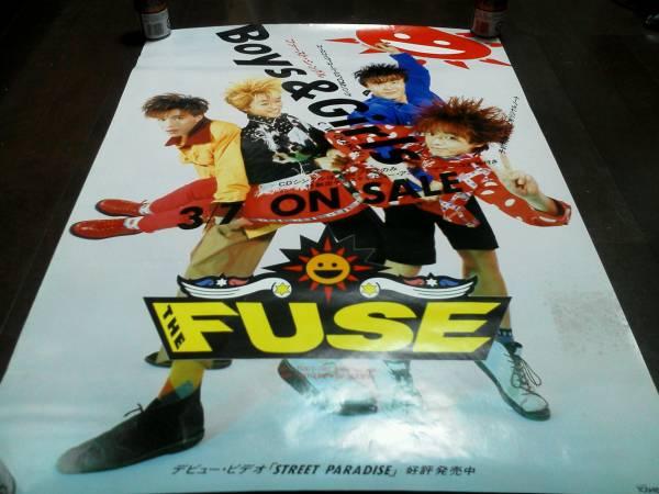 古いレトロアイドルポスター THE FUSE TOSHIBAEMI