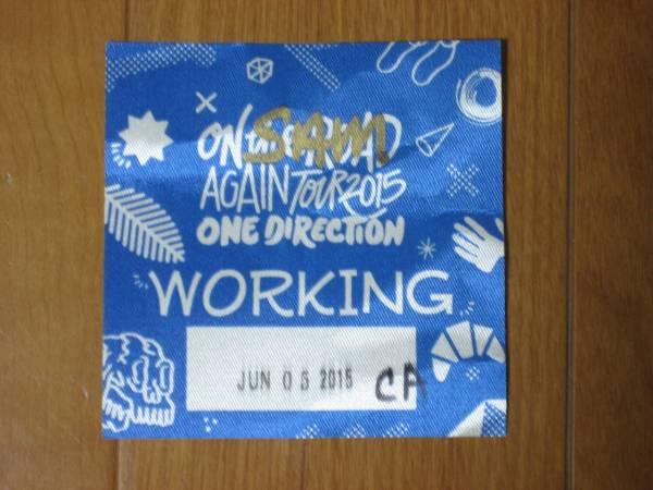 One Direction working pass ワン・ダイレクション 非売品 グッズの画像