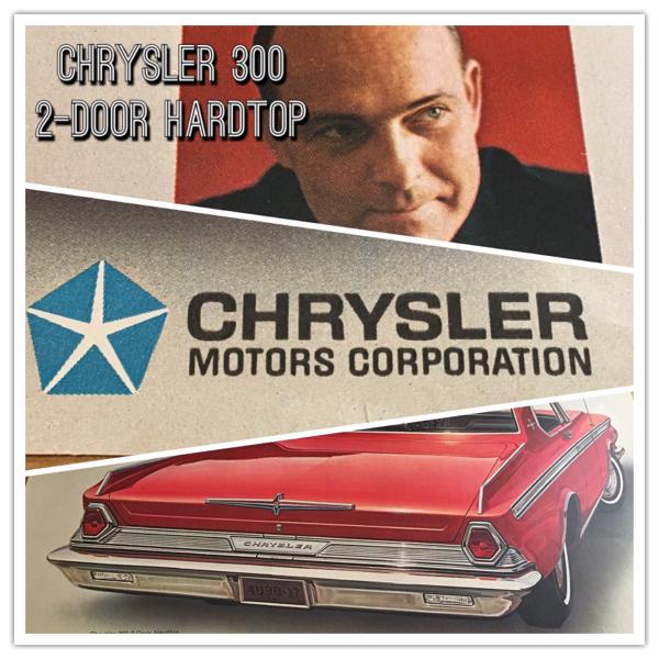 LIFE Chrysler 300 2DoorHardtop広告 当時物 クライスラーアメ車