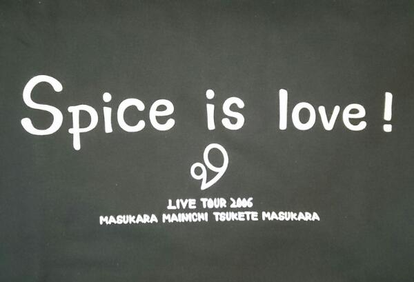 【レア】大塚愛 ライブツアーTシャツ Spice is love LIVE TOUR 2006 _画像3