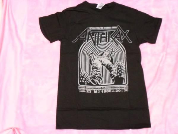 ANTHRAX アンスラックス バンドT S ロックT ツアーT Slayer ライブグッズの画像