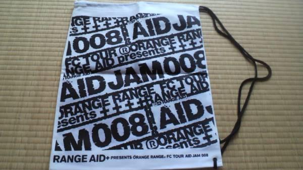 オレンジレンジ AID JAM 008ツアーバッグ