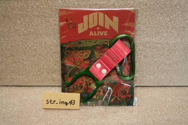 新品 JOIN ALIVE 2014 ペットボトルホルダー ジョイン グッズ