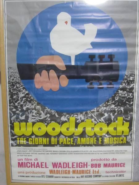 新品未開封・WOODSTOCK ウッドストック/POSTER ポスター(大)