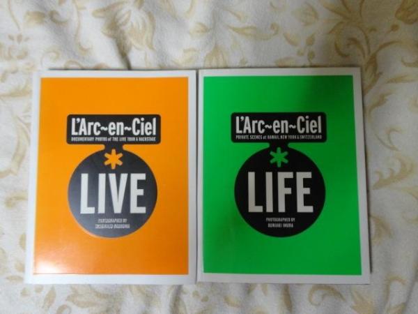 L'Arc~en~Ciel*LIVE LIFE 2冊セット