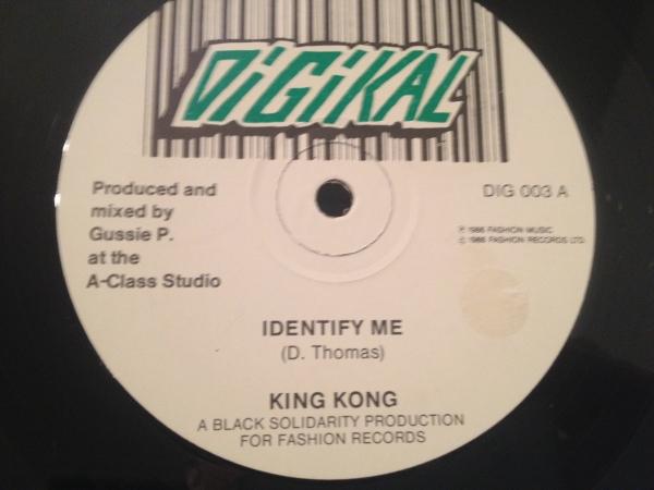 ★King Kong/Identify Me★KILLER DIGITAL!_画像1