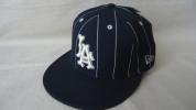 Stussy Los Angele Dodgers NEW ERA Cap 紺 7 1/2 , 59.6cm MLB ステューシー ニューエラ キャップ 59FIFTY NY LA LONDON TOKYO PARIS