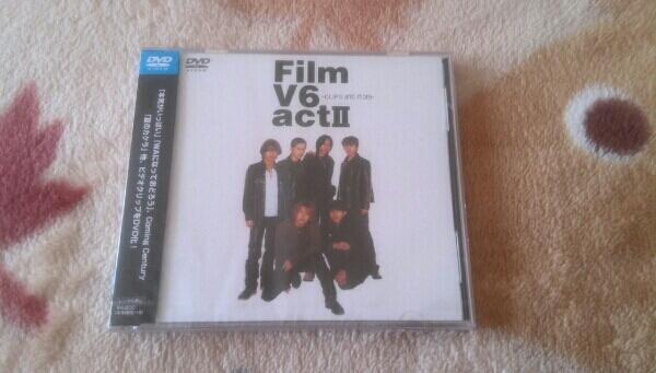 新品 未開封 V6 FILM V6 act II -CLIPS and more- DVD コンサートグッズの画像