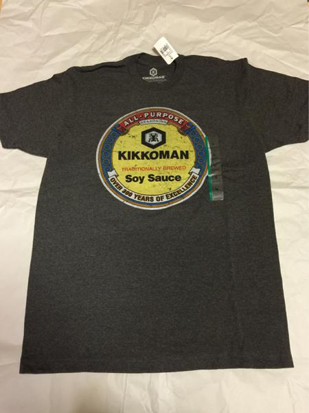 キッコーマン USA 公式ライセンス Tシャツ Mサイズ 新品 醤油