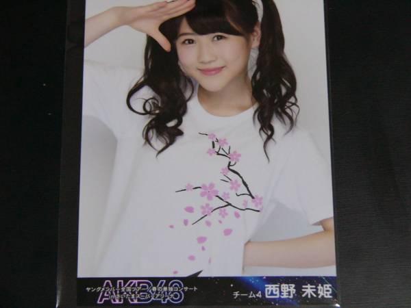 AKB48ヤングメンバー/春の単独コンサートDVD生写真 西野未姫 ライブ・総選挙グッズの画像