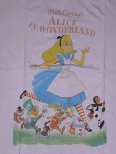 新品ディズニー限定コラボTシャツXXL 不思議の国のアリス disney ディズニーグッズの画像