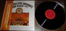 [ カリフォルニア州立大学・ロング・ビーチ校 ウインドシンフォニー・イン・ジャパン ] LP 吹奏楽
