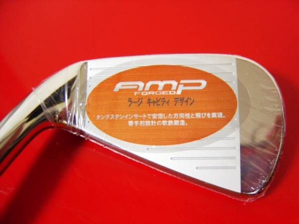 ゴルフを上手にする名器はオレンジ色がビビッドで精悍で端整でカッコイイ!何故か明石家さんま氏も絶賛していたコブラ(PUMA)AMP8本組が◎_名器AMPの威力を知って病みつきになるよ
