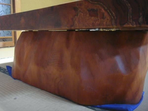 屋久杉 大型テーブル 200cm×110cm 一枚板 送料無料_画像2