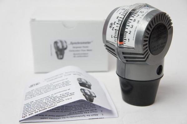 新品 ドイツ STE社 正規輸入品 最新型 キャブレター シンクロメーター SK型 SOLEX WEBER 純正指定