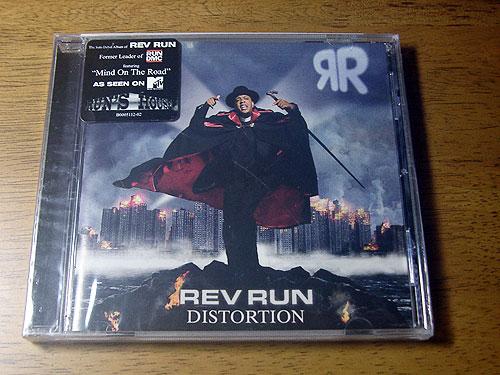 ■ REV RUN / DISTORTION ■ レヴ・ラン / 輸入盤・新品未開封