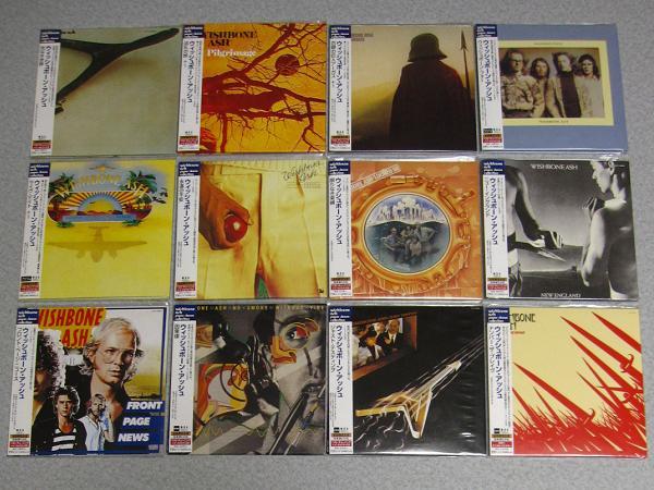 紙ジャケ★12枚13CD★ウィッシュボーン アッシュ★Wishbone Ash