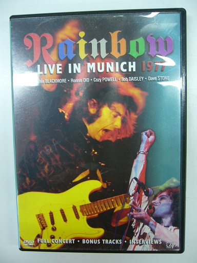 RAINBOW/LIVE IN MUNICH 1977」-2DVD 春04 7-54 ライブグッズの画像