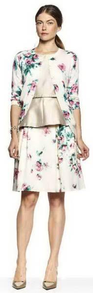新品77%OFF マックスマーラ Max Mara デザインスカート ベージュ 38サイズ_画像3