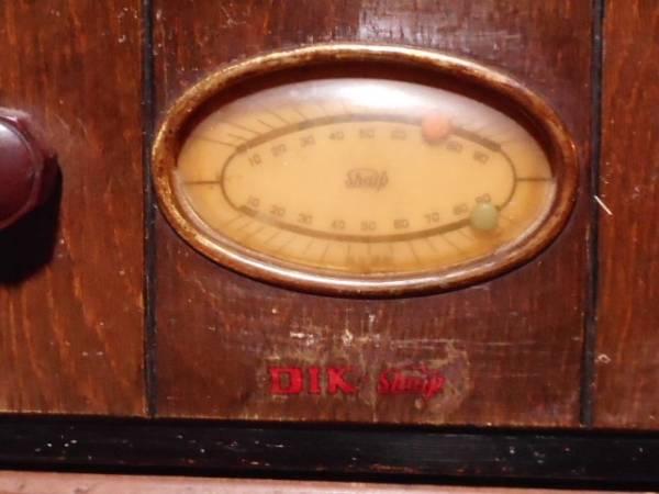 【ジャンク品】アンティーク 真空管ラジオ(電源は入ります) シャープ charp レトロ_画像2