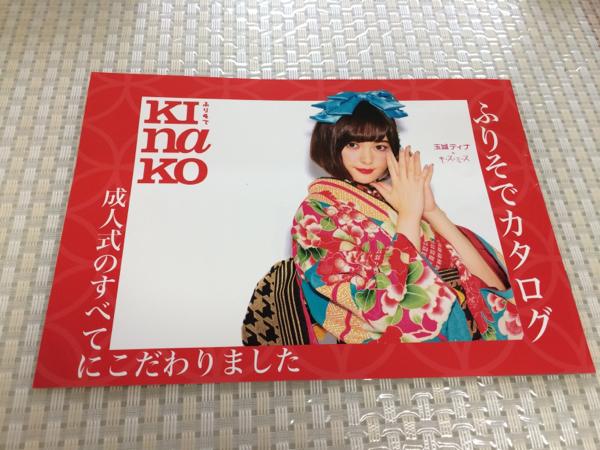 非売レア☆玉城ティナ 振袖着物カタログ パンフ 写真集