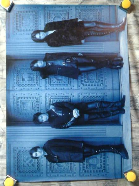 p10【ポスター/B-2】CRAZE-クレイズ/BE CRAZY-1st/特典ポスター