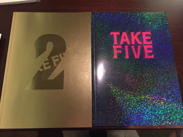 TAKE FIVE パンフレット 2冊セット 藤ヶ谷 太輔 キスマイ 美品 山本裕典 TAKE FIVE2 パンフ