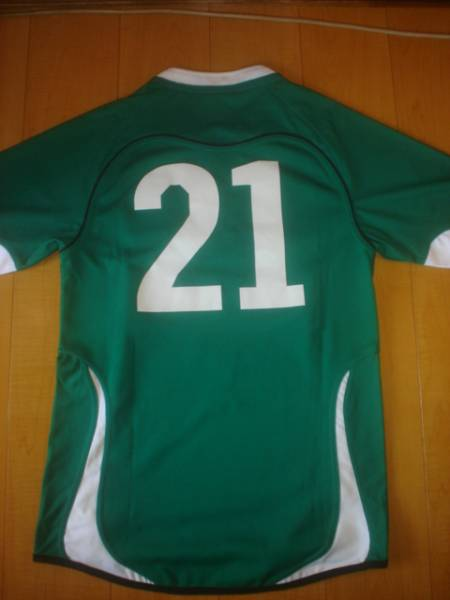 ラグビー アイルランド代表 試合着用ジャージ_画像3