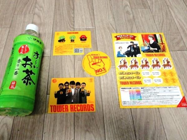 ◆千原ジュニア のだめカンタービレ ステッカー◆タワーレコード