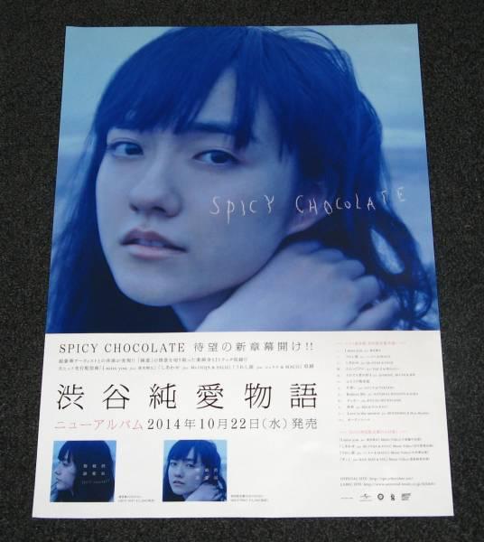 ∠SPICY CHOCOLATE [渋谷純愛物語] A2告知ポスター