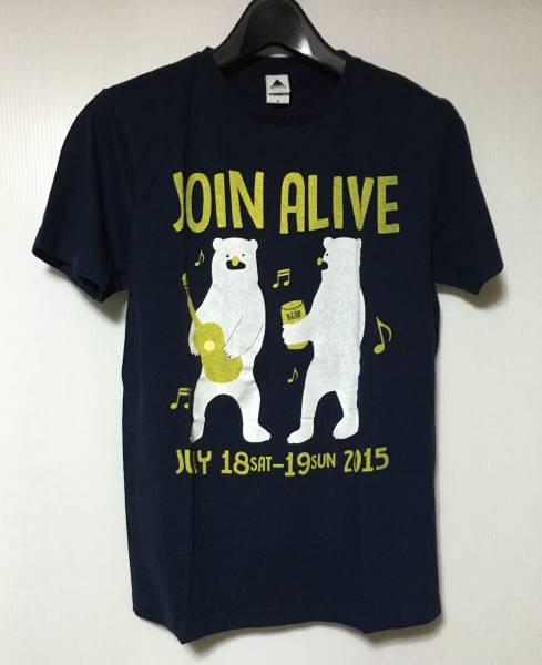 JOIN ALIVE Tシャツ 2015 S