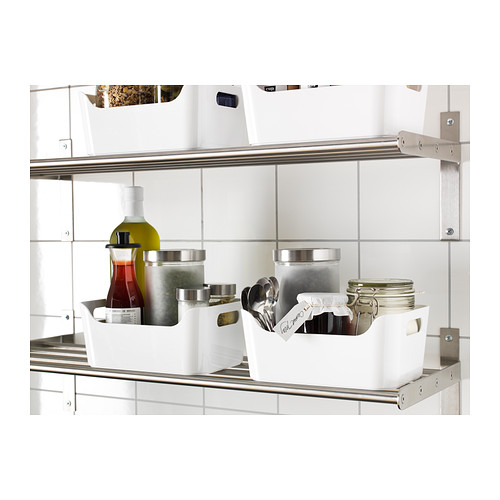 IKEAボックスVARIERAホワイト(S)24x17cm送料全国一律750円!_画像2
