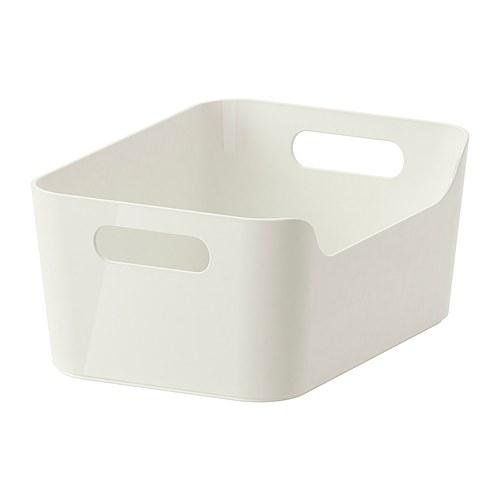 IKEAボックスVARIERAホワイト(S)24x17cm送料全国一律750円!_画像1