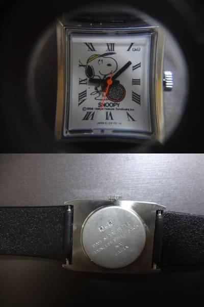 ◆◇JAPAN CBM Q&Q SNOOPY スヌーピー 手巻き 腕時計 ジャンク_画像3