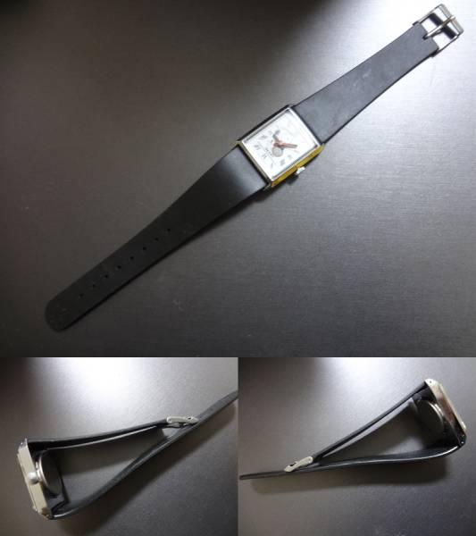 ◆◇JAPAN CBM Q&Q SNOOPY スヌーピー 手巻き 腕時計 ジャンク_画像2