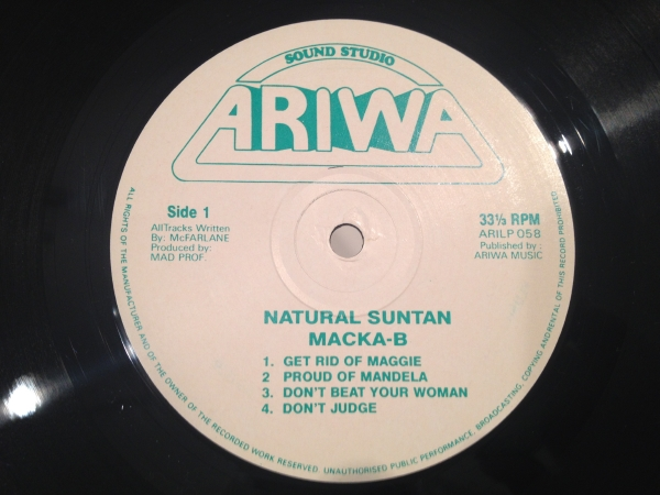 ■Macka-B/Natural Suntan■KILLER DIGI ROOTS!_画像2