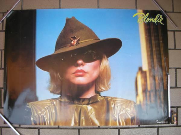 ブロンディ デボラ・ハリー ポスター A1サイズ ニュー・ウェイブ