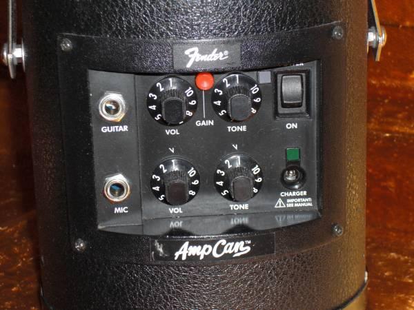 交換可●Fender USA AMPCAN 小型 Gt PA アンプ フェンダー PR522