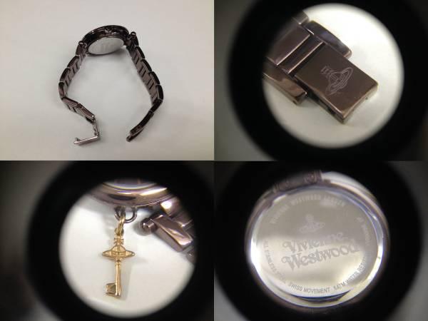 ヴィヴィアン ウエストウッド レディース 腕時計 VV006KBR 美品_画像3