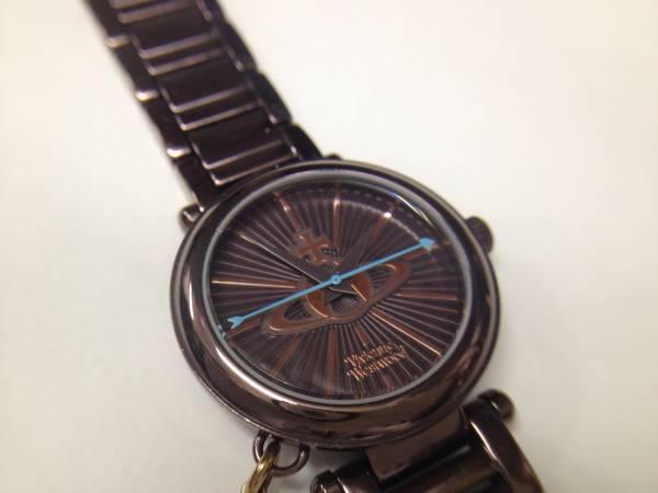 ヴィヴィアン ウエストウッド レディース 腕時計 VV006KBR 美品_画像2