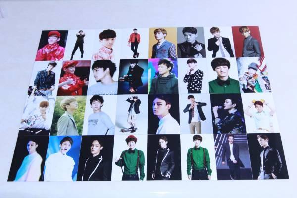 EXO(エクソ) チェン CHEN 宣伝生写真50枚セット