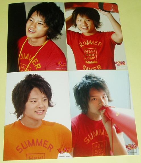 岡本圭人 写真4枚 Hey!Say!JUMP SUMMARY 2008 コンサートグッズの画像