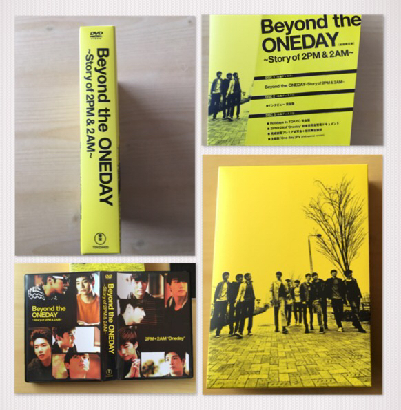 【2PM】Beyond the ONEDAY ~Story of 2PM & 2AM~初回限定版